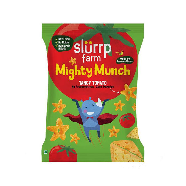 Slurrp Farm | Mighty Munch | Tangy Tomato