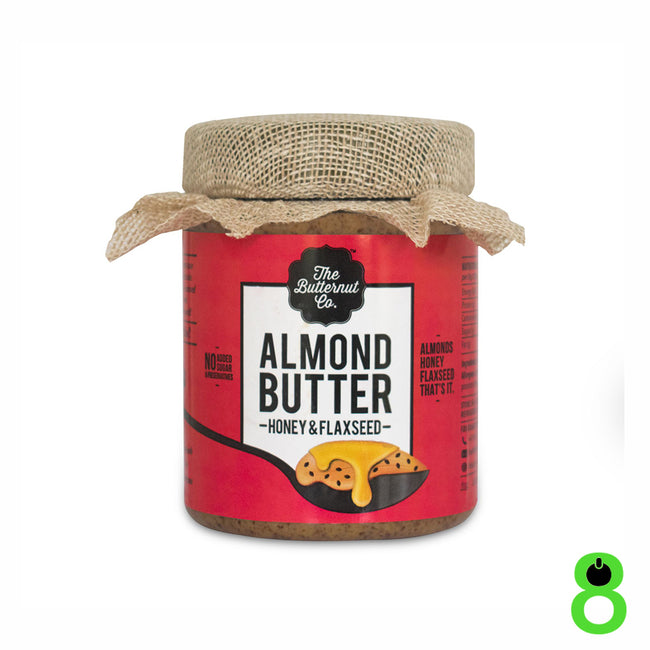 The Butternut Co - Almond Butter - Honey and Flaxseed