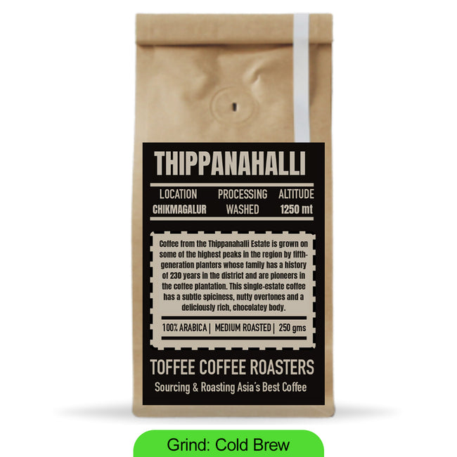 Toffee Coffee Roasters | Thippanahalli Estate Coffee