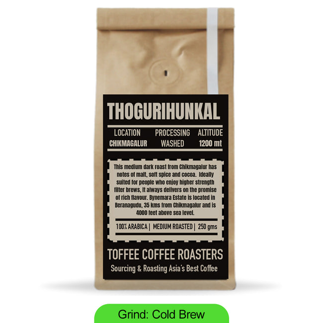 Toffee Coffee Roasters | Thogurihunkal Estate Coffee