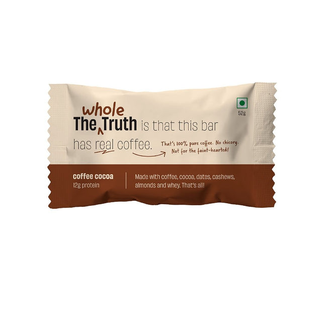 The Whole Truth | Coffee Cocoa Protein Bar