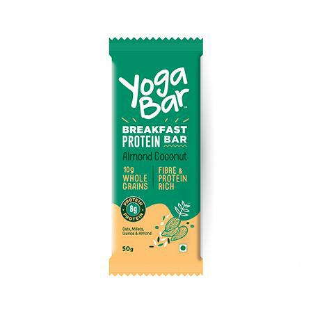 Yogabar - Multigrain Breakfast Bar - Almond Coconut