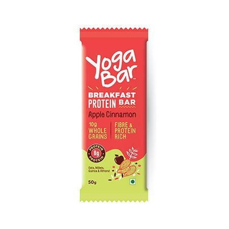 Yogabar - Multigrain Breakfast Bar - Apple Cinnamon
