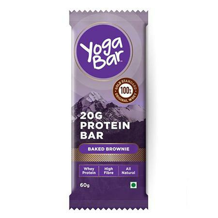 Yogabar - 20g Whey Protein Bar - Baked Brownie