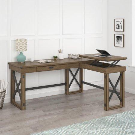 https://www.ebay.com/sch/i.html?_nkw=Ameriwood+Home+Wildwood+L+Shaped+Desk+with+Lift+Top+Rustic+Gray&_sacat=0