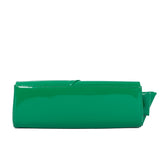 Christian Loubotin Green Red Clutch