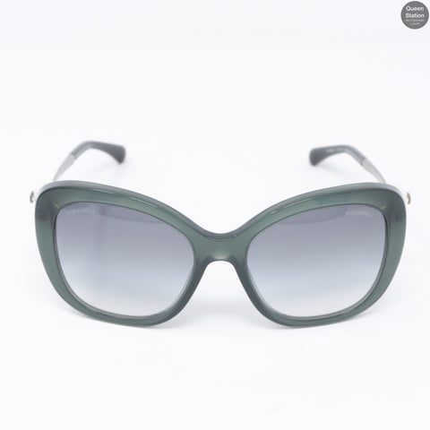 Pearl Sunglasses Green