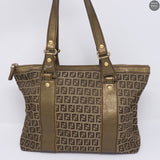 Monogram Canvas Metallic Tote