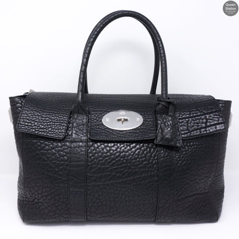 Bayswater Large Black Leather