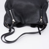 Maidstone Black Leather Tote Bag
