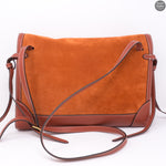 Red Fox Suede Brimley Envelope Bag