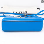 Micro Peekaboo Royal Blue Nappa Leather