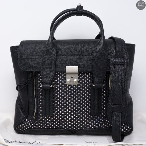 Pashli Medium Satchel Black