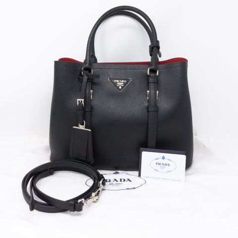 Black Double Bag Small