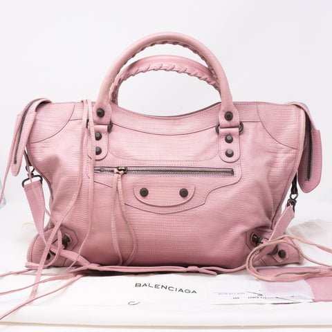 City Light Pink Leather