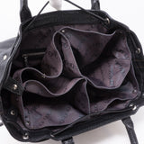 Tobago Trunks & Bags Black Suhali Leather