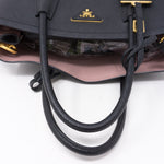 Black Double Medium Bag