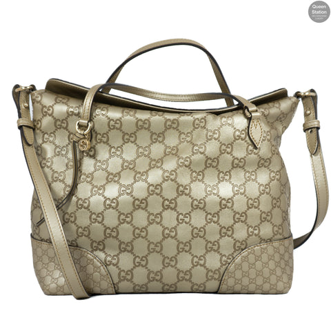 Champagne Leather Bag