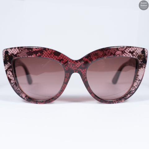 Red Lace Sunglasses