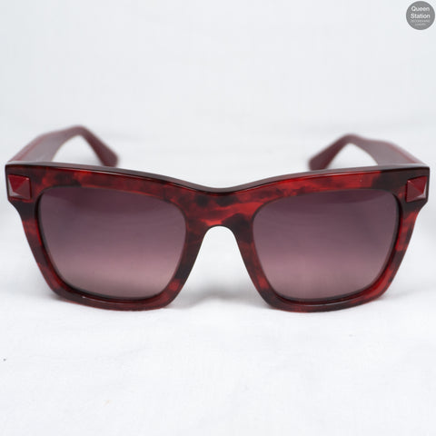 Dark Red Sunglasses