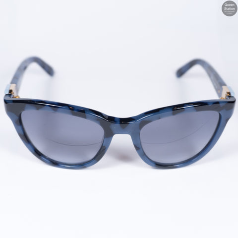 Blue Camo Sunglasses