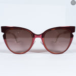 Red Metal Sunglasses