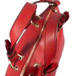 Two Way Red Monogram Leather
