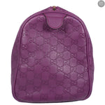 Boston Bag Purple Monogram Leather