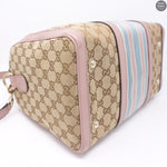 Boston Bag Shoulder Strap Pink Monogram