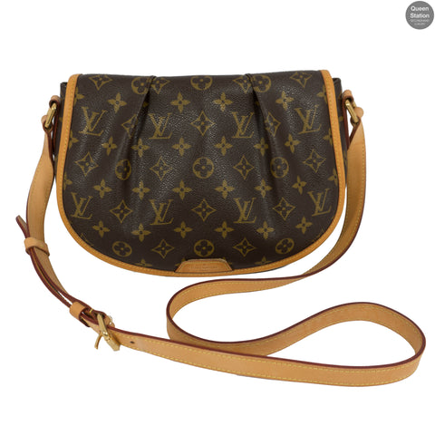 Menilmontant PM Monogram Crossbody Bag