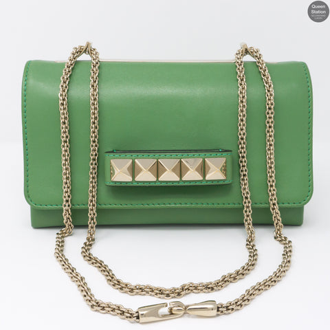 Rockstud Va Va Voom Chain Flap Bag