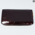 Zippy Amarante Vernis Leather Wallet