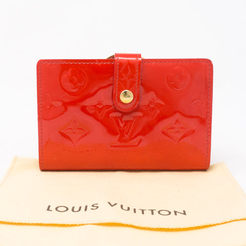 Viennois Wallet Vernis Red