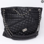 Jumbo XL 10A Quilted Leather Tote Bag