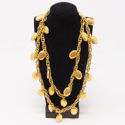 Chanel Logo Chain Sautoir