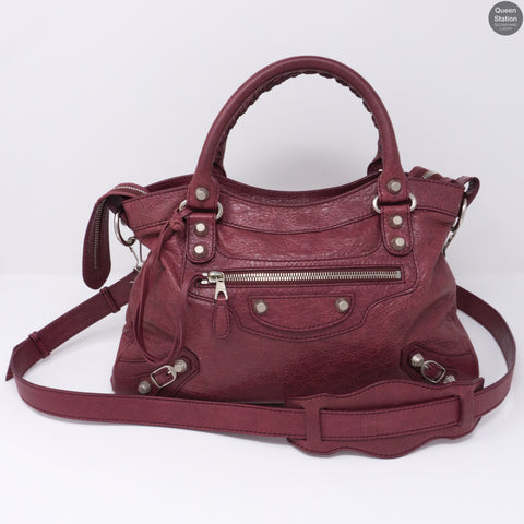 Town Burgundy Leather