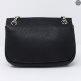 Mini Winsley Black Leather