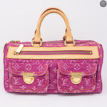 Neo Speedy Pink Denim Monogram