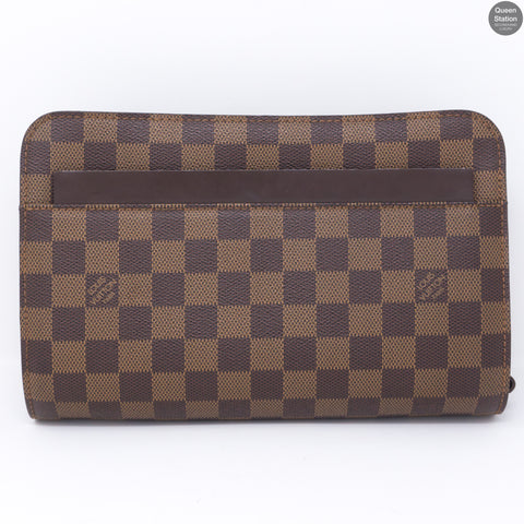Saint Louis Clutch Damier Ebene