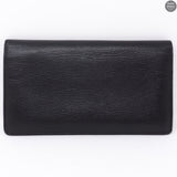 CC Logo Long Bifold Wallet Black