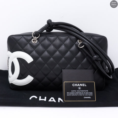 e04171329cd6 Cambon Bowler Quilted Leather Black