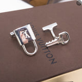Lock & Key Sterling Silver Cufflinks
