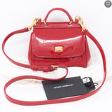 Mini Red Patent Leather Bag