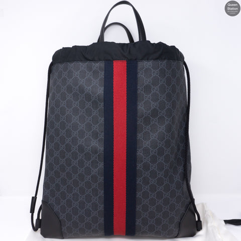 Soft GG Supreme Drawstring Backpack