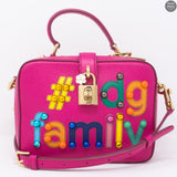 Dolce Box #dgfamily Pink Leather