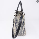 Lady Dior Medium Snakeskin Leather