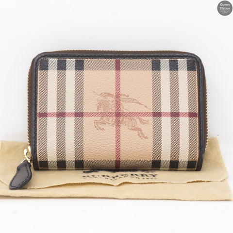 Haymarket Check Zip Wallet