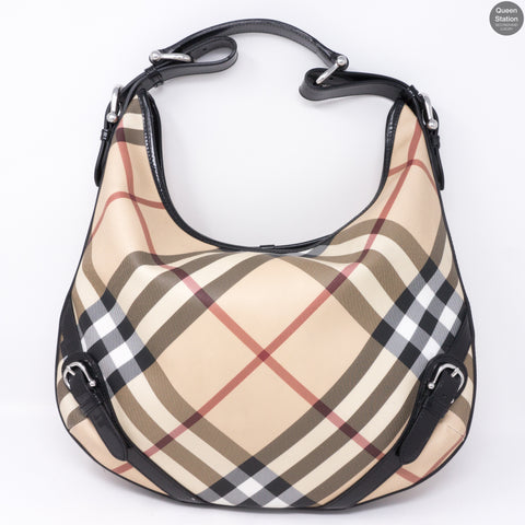 Nova Check Hobo Bag