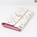 Sarah Wallet Multicolore White