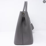 Grey Double Medium Bag